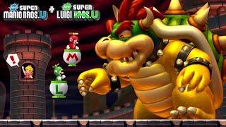 New Super Mario & Luigi Bros U - Full Game 2-Player Walkthrough