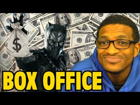 ACTUAL Black Panther BOX OFFICE Numbers