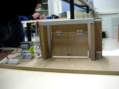 Control por ordenador de una maqueta puerta levadiza - Proyecto puerta de garaje ...
