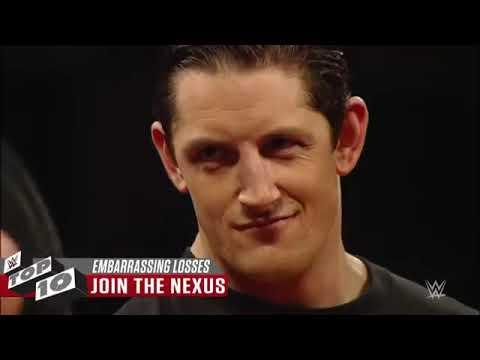 Most embarrassing losses  WWE Top 10