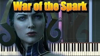 🎵 In the End - Magic: The Gathering War of the Spark Official Trailer Song [Piano Cover]
