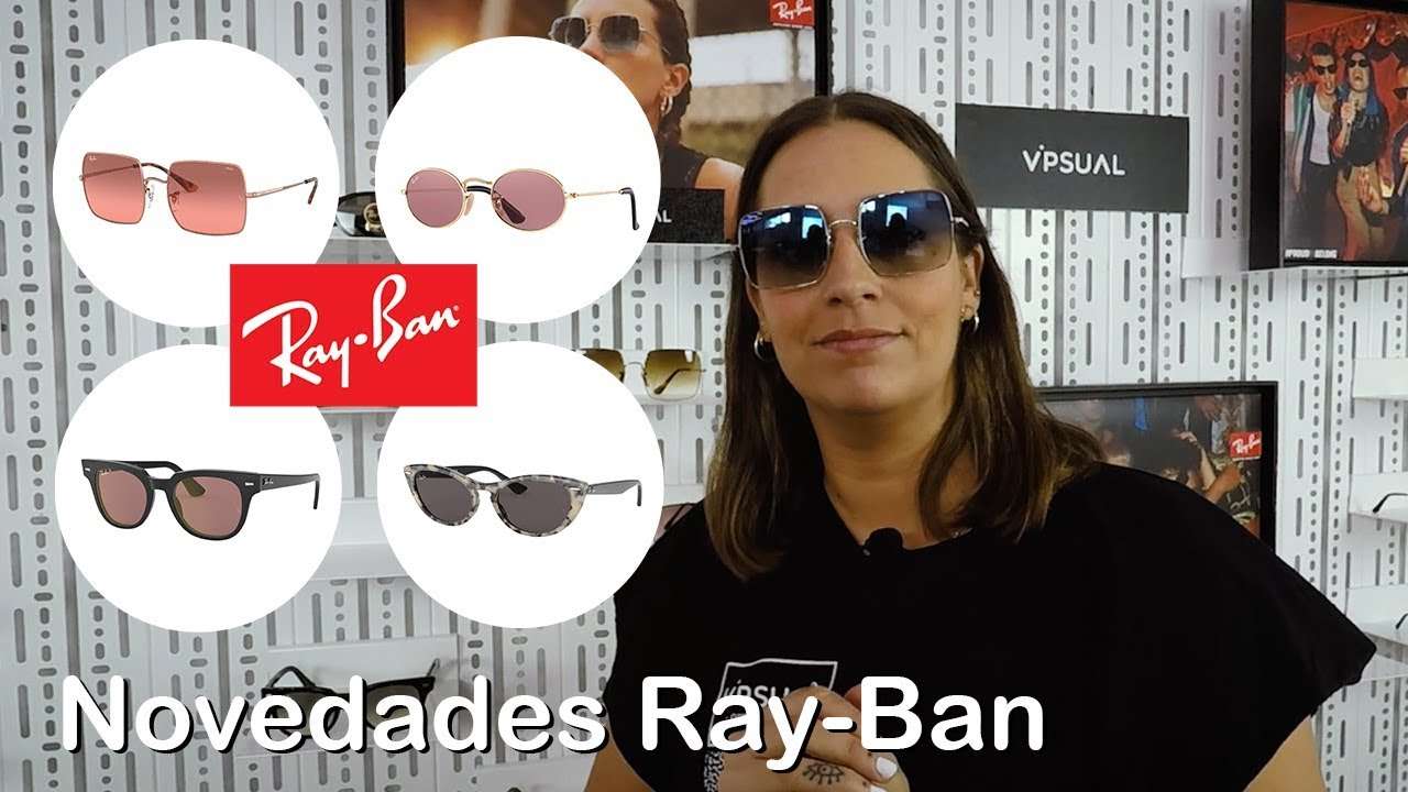 ~ lado blanco lechoso Ruidoso  Novedades gafas sol Ray-Ban 2019: Square, Nina, Oval y Meteor - YouTube
