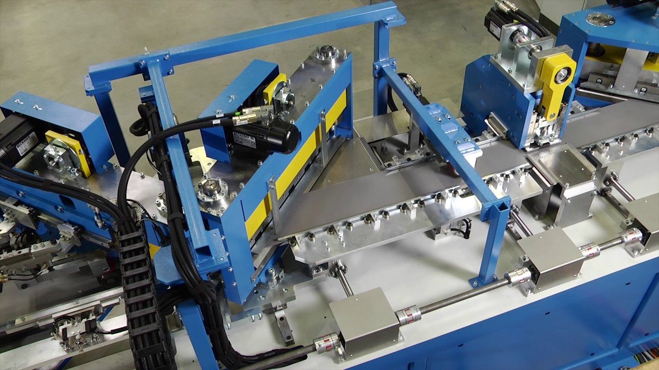 Tuboly-Astronic Core Cutting Line CCC 450 CSH2 2500 - YouTube