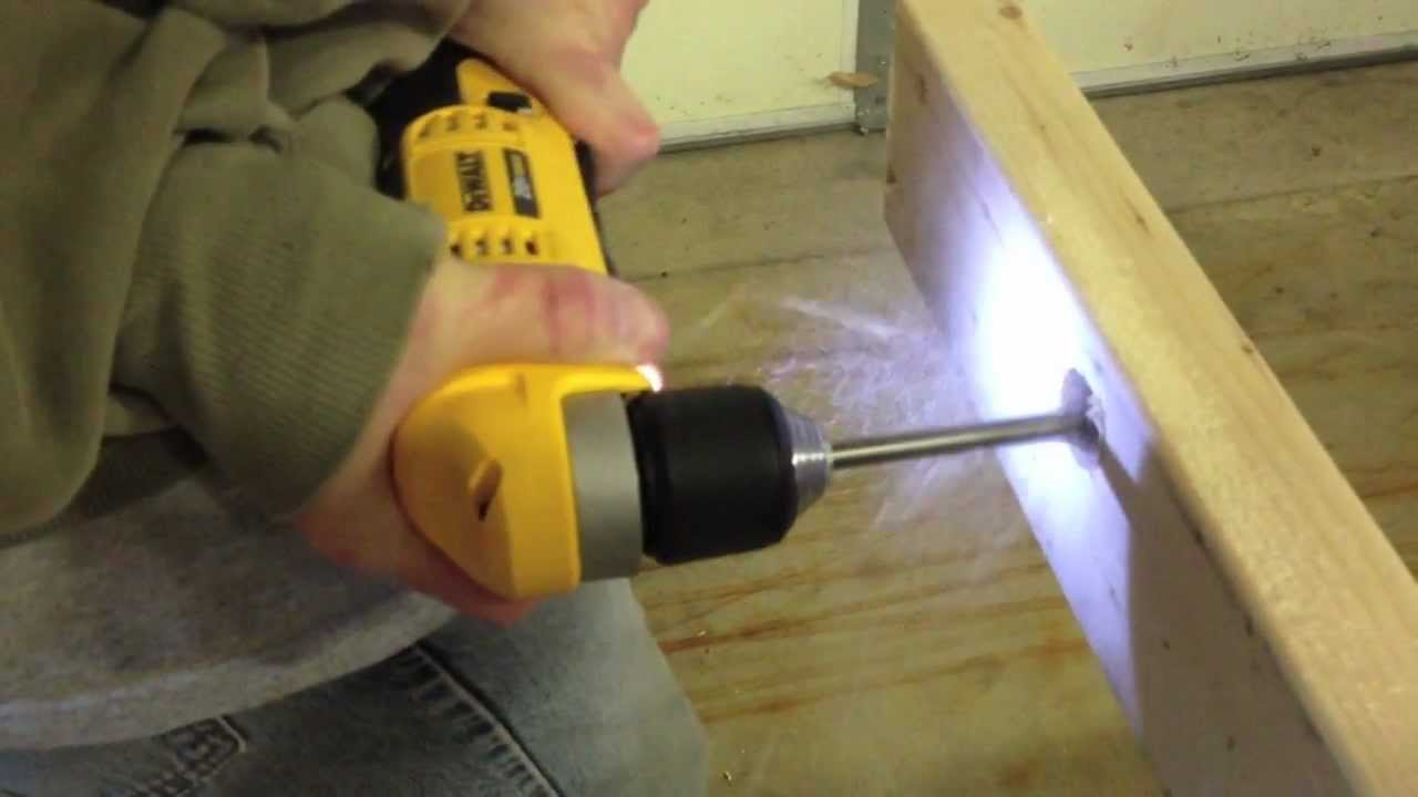 "DeWALT DCD740C1 20V MAX Lithium Ion 3/8"" Right Angle Drill ..."