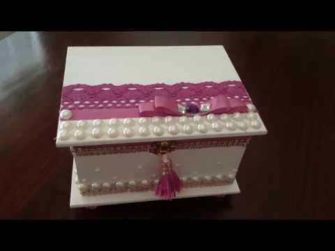 DIY-Jewelry Box Organizer (Dollar Store)