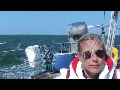 Hallberg Rassy 42 - Sailing Force 6/7 - North Sea 2014