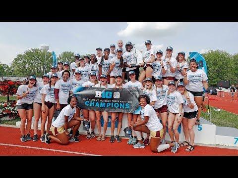 Gopher Women's Track & Field Celebrates 2018 B1G Championship!