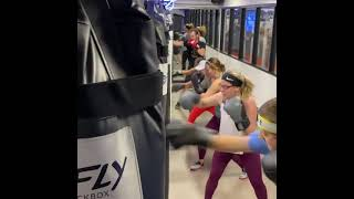 FLY Kickbox In Action