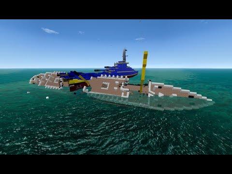 From the Depths, Battleship vs SS Nomadic
