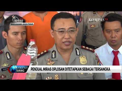 Polisi Sita Ratusan Liter Miras Oplosan dalam Sepekan