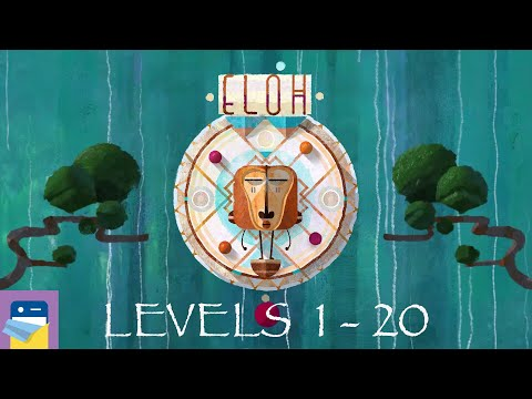 ELOH: Levels 1 - 20 Walkthrough Guide & IOS / Android Gameplay (by Broken Rules)