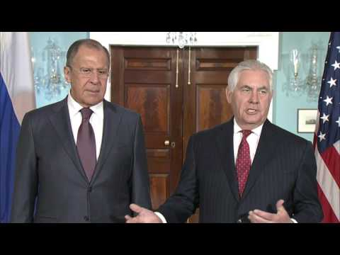 Remarks With Russian Foreign Minister Sergey Lavrov Before Their Meeting