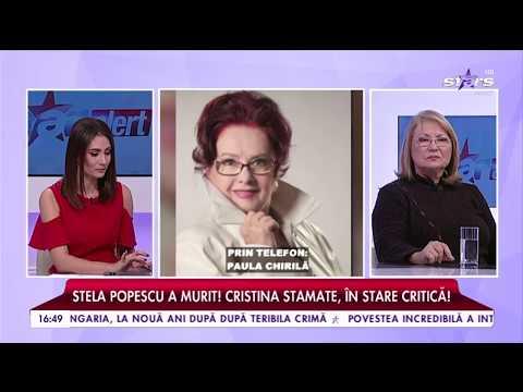 """Paula Chirilă: """"Fix acum o lună am stat la masă împreună"""""""