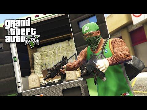 GTA 5 Real Life Thug Mod #26 - ROBBING EVERYTHING!! (GTA 5 Mods)