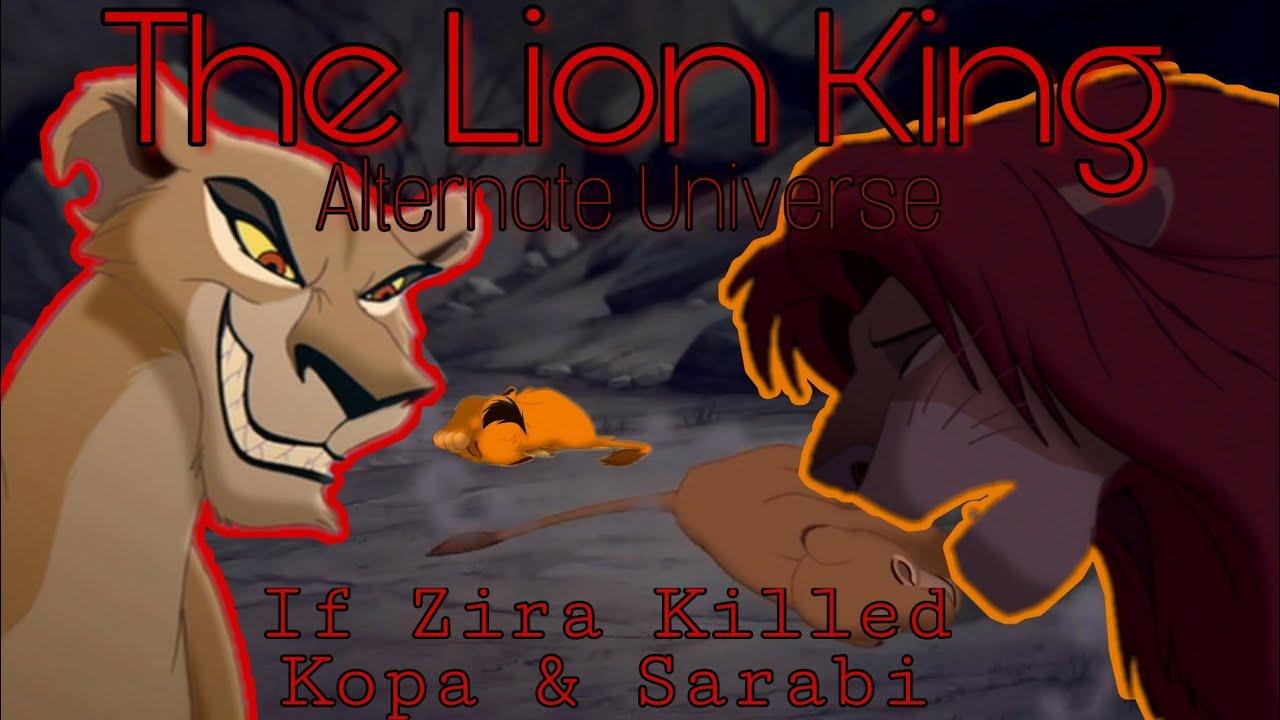 What If Zira Killed Kopa Sarabi Lion King Au Crossover