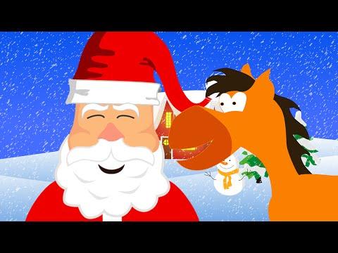 Ein Kleiner Weißer Schneemann (Jingle Bells) - Weihnachtslied für Kinder Tinyschool Deutsch