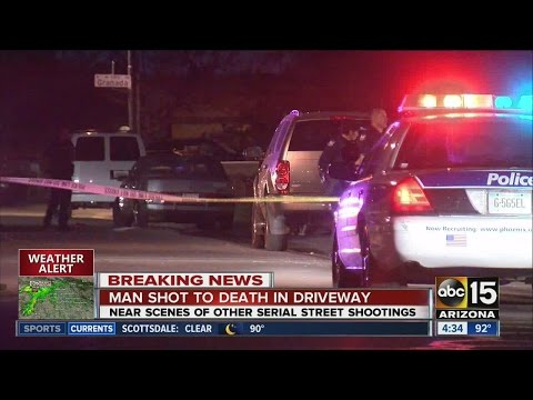 Man shot, killed in Phoenix driveway