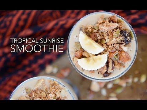 Tropical Sunrise Smoothie