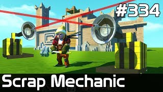 Scrap Mechanic Po Polsku [#334] FORTbitwa na LASERY