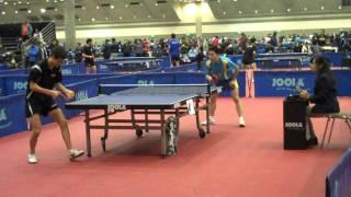 Fang Bo vs Peter Li (2011 NA Teams)