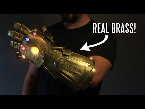 WATCH: Real metal Infinity Gauntlet (that snaps!)