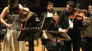 Janine Jansen & Julian Rachlin playing Passacaglia Haendel Halvorsen