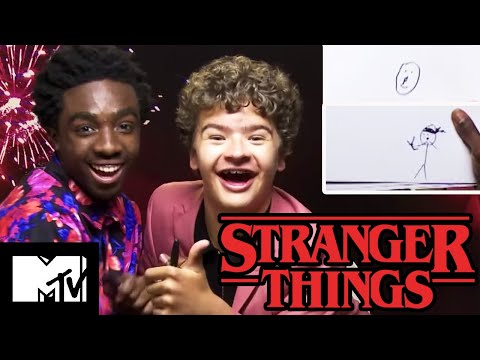 Dre - The Cast Of Stranger Things 3 Plays Pictionary