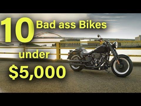 10 Best Motorcycles under $5,000