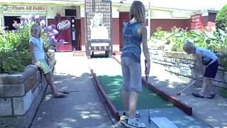 Bunny Hutch Mini Golf 8/9/2011 15