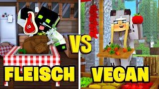 FLEISCH VS VEGAN?! - Minecraft [Deutsch/HD]