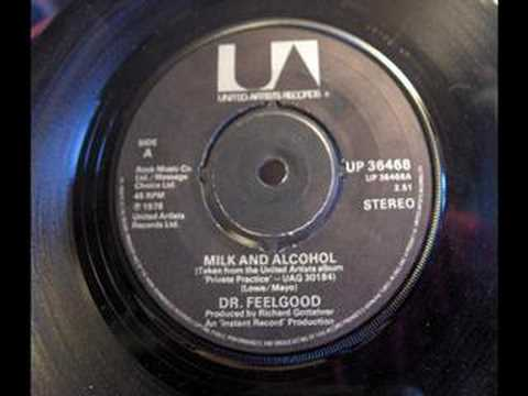 Dr Feelgood - Milk And Alcohol 1978 United Artists Stereo