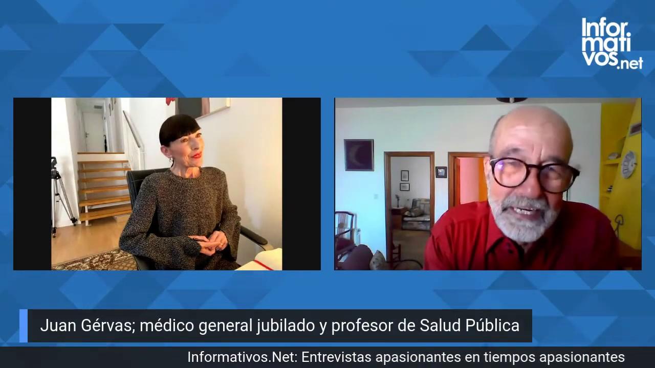 Entrevista al Dr. Juan Gérvas, médico general jubilado y profesor de Salud Pública