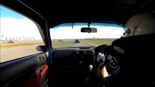 Honda Civic Type R JRZ NOVAK RACING AAA California Speedway Roval 11/10/13