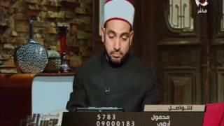 سالم عبد الجليل يطالب الأوقاف بتوفير مترجم إشارة للخطبة فى المساجد.. فيديو