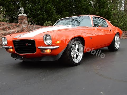 1971 Chevrolet Camaro In Hugger Orange For Sale Old Town Automobile In Maryland