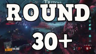 CoD AW Exo Zombies 'Descent' High round Strategy round 30+