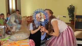 Шоу мыльных пузырей на детский праздник в Новосибирске