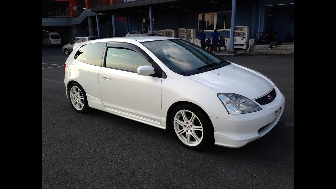 Honda Civic Type S 2013 >> 2002 Honda CIVIC Type R 6-speed weapon by TK @ Edward Lees's - YouTube