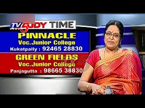 Various Courses Offered By Pinnacle Voc.  Junior College | Study Time | TV5 News