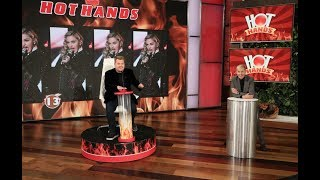 James Corden Is on Fire Playing 'Hot Hands'