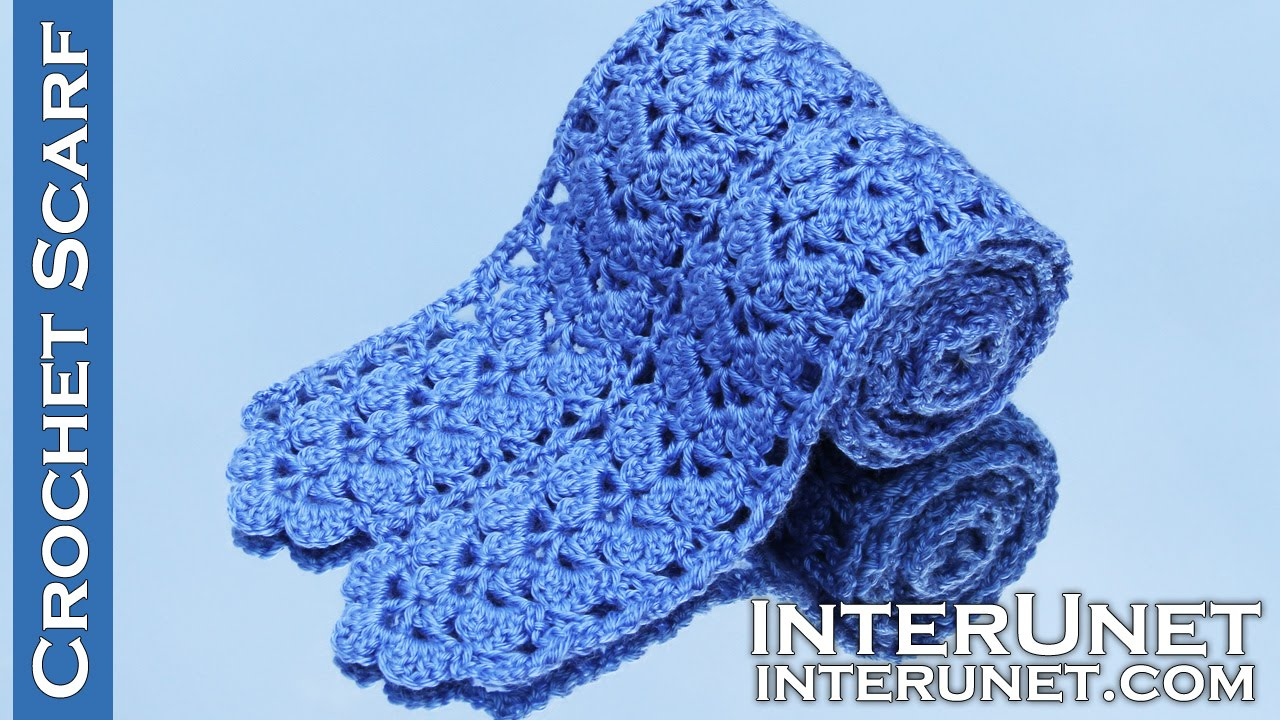 Lacy Crochet Scarf Pattern Best Decorating Design