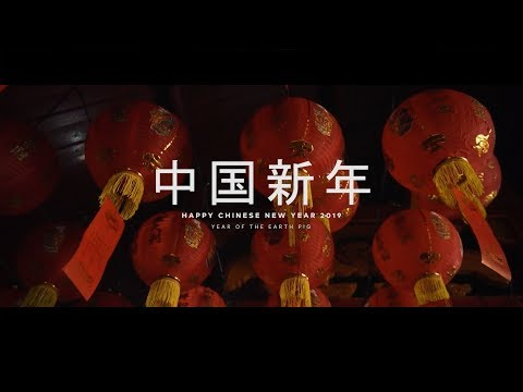 Happy Chinese New Year 2019 - Year of The Earth Pig
