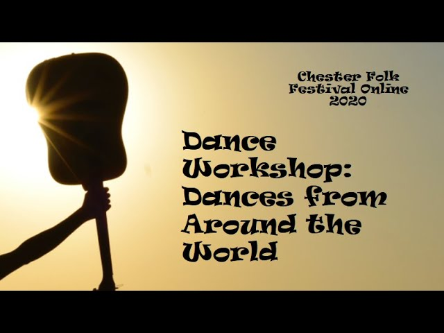 Dance Workshop with Martyn Harvey: Dances from Around the World
