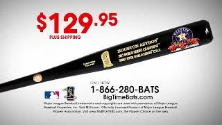 Astros Championship Celebration Commemorative Bat