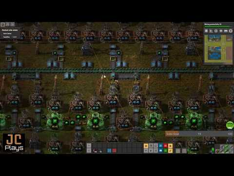 JC Plays Factorio Live Ep75 - 403 Hrs - Red Circuits Tune, Start Blue Cell