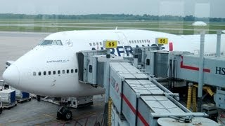 B747 Upper Deck HD - Air France - Paris CDG to Montreal