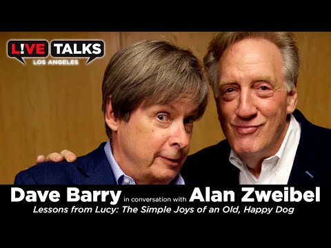 Dave Barry in conversation with Alan Zweibel at Live Talks Los Angeles