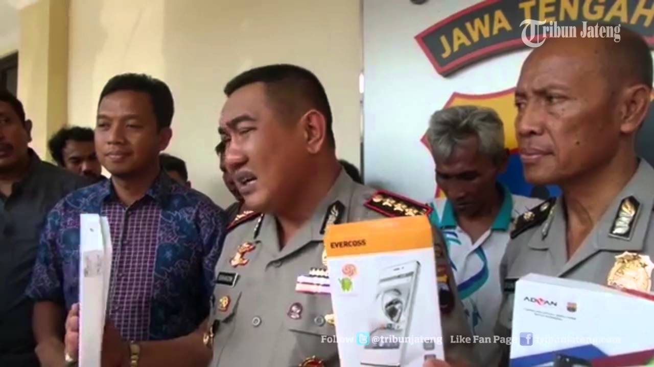 Video Penangkapan Penadah Ribuan Handphone Yang Digelapkan Dari Surabaya Semarang Ke