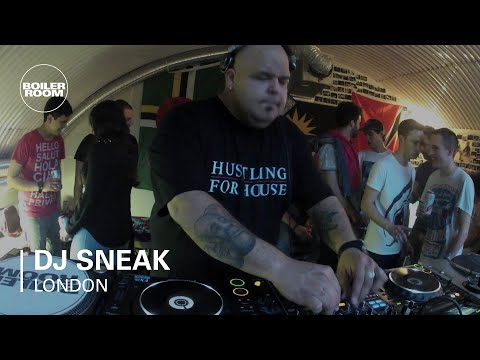DJ Sneak Boiler Room London DJ Set