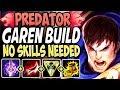 PREDATOR GAREN SEASON 9 BUILD ☠️ NO SKILLS NEEDED TO KILL THEM ALL ☠️ LoL TOP Garen S9 Gameplay